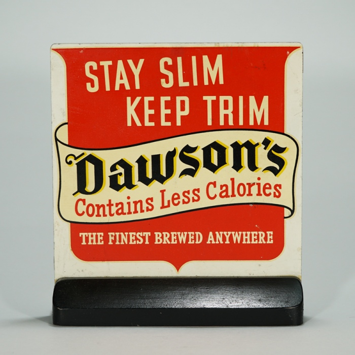 Dawson's Less Calories POP Display Beer