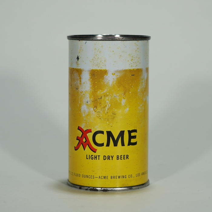 Acme Light Dry Beer Can 28-28 Beer
