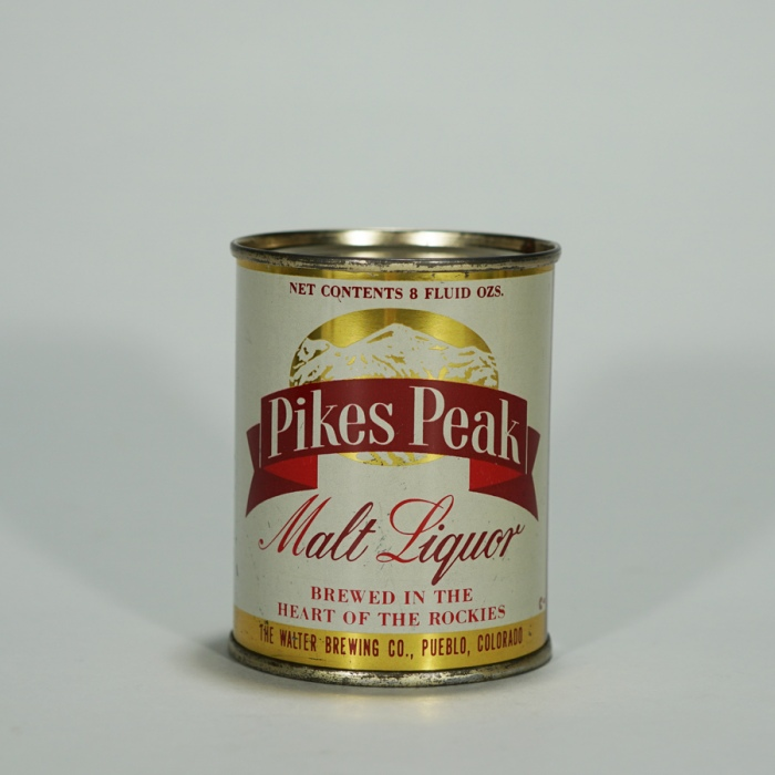 Pikes Peak Malt Liquor 8oz Can 242-7 Beer