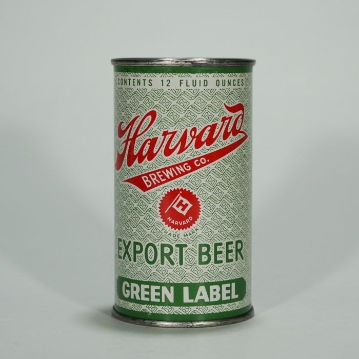 Harvard Export Beer Green Label Can 80-37 Beer