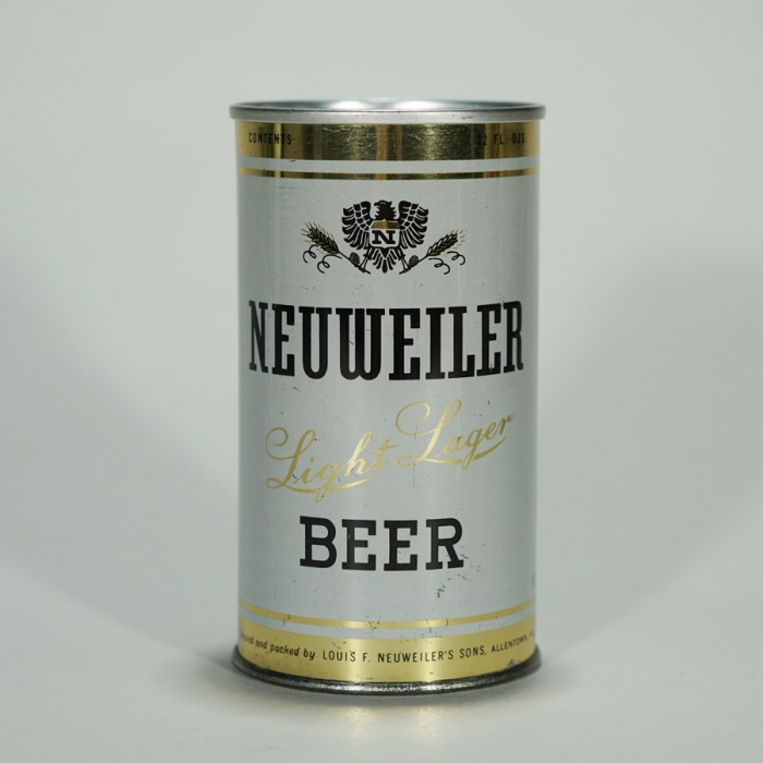 Neuweiler Light Lager ZIP TOP 98-10 Beer