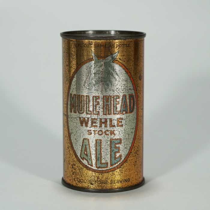 Wehle Mule Head Stock Ale LIKE OI 541 Beer
