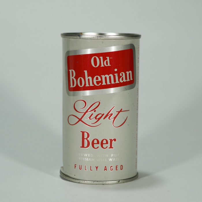 Old Bohemian Light Beer Can 104-25 Beer