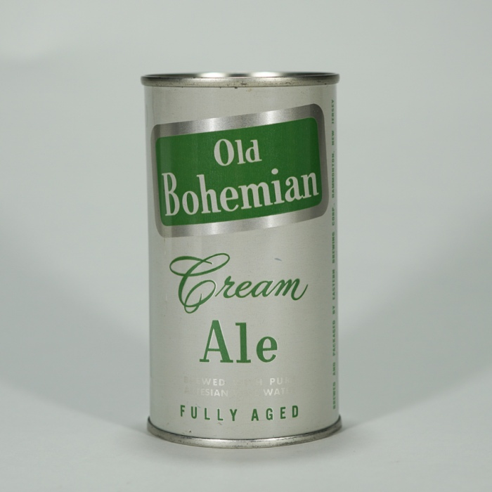 Old Bohemian Cream Ale Can 104-20 Beer