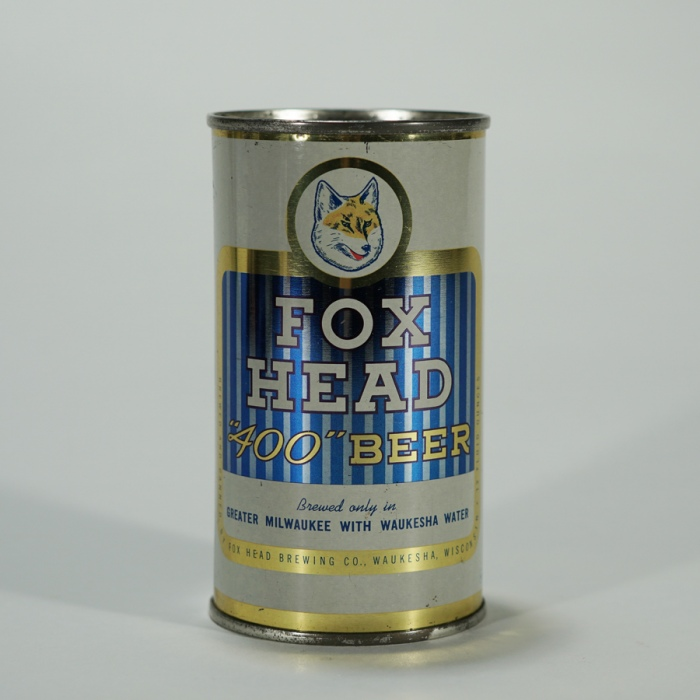 Fox Head 400 Beer Can 66-14 Beer