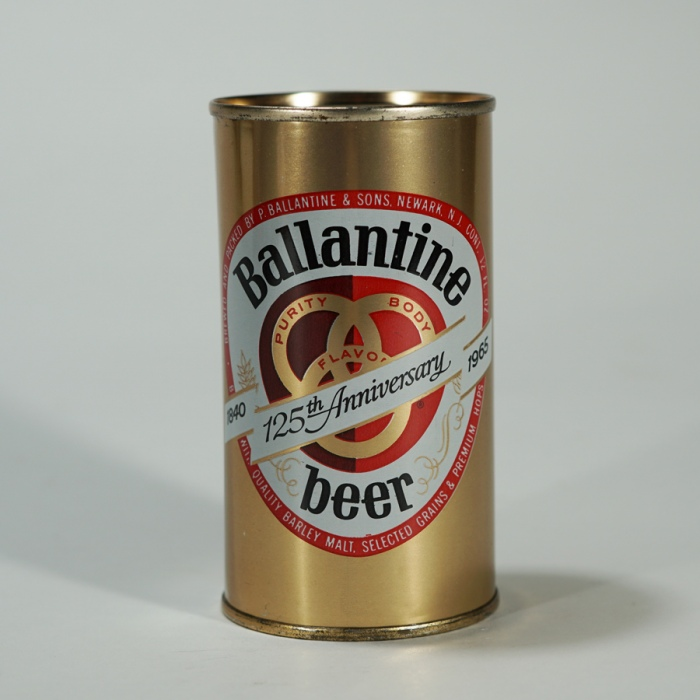 Ballantine 125th Anniversary Can 34-9 Beer