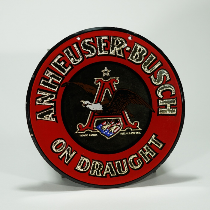 Anheuser-Busch On Draught RPG Sign Beer