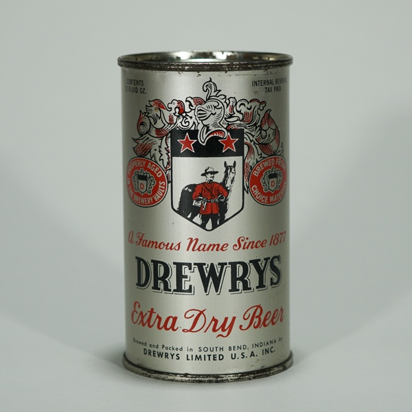 Drewrys Extra Dry Beer Can 55-36 Beer
