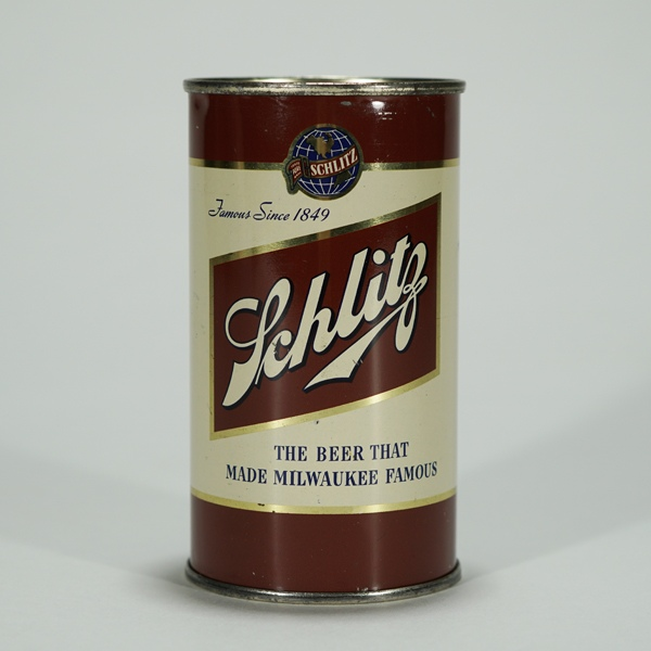 Schlitz 1949 Beer Can 129-26 Beer