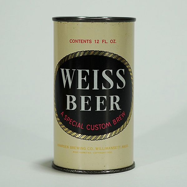 Weiss Beer Custom Brew Can Beer