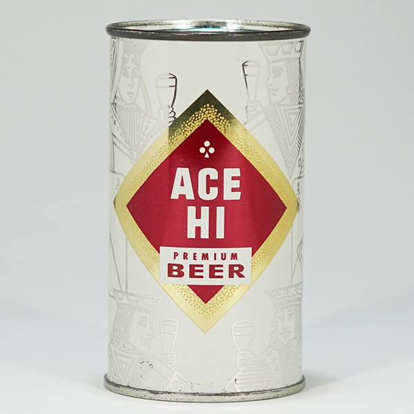 Ace High Premium Beer Can 28-19 Beer