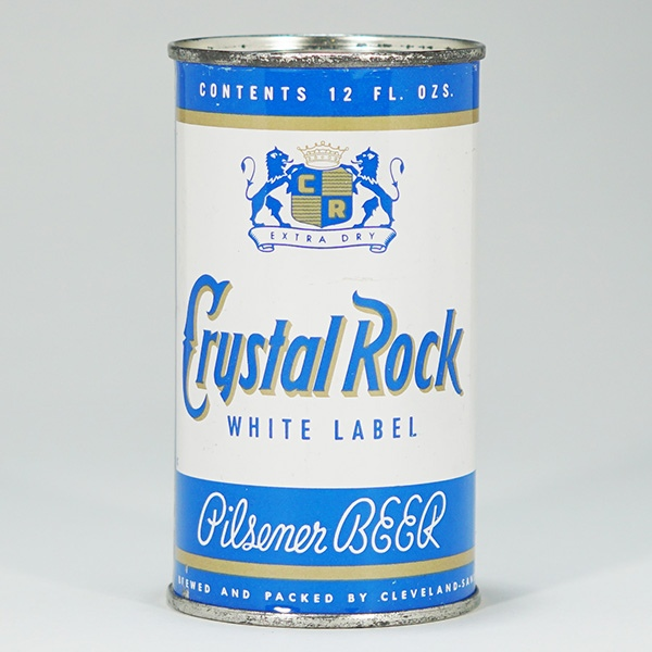 Crystal Rock White Label Can 52-40 Beer