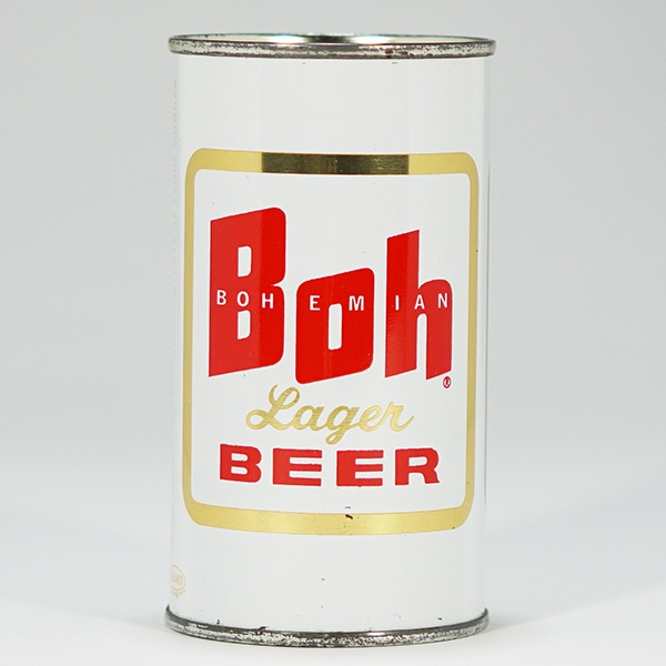 Boh Bohemian Lager Can 40-08 Beer