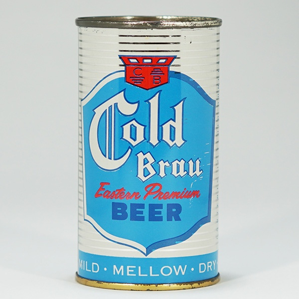 Cold Brau Eastern Beer Can 50-02 Beer