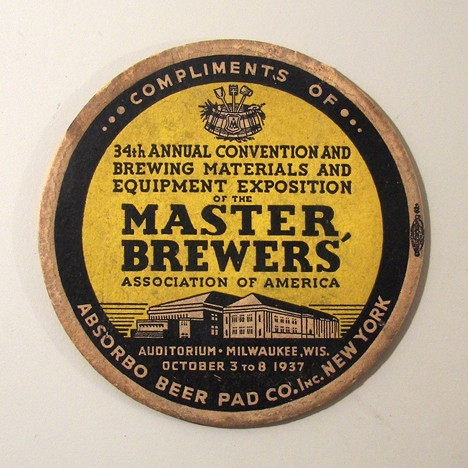 34th Master Brewer's Association Convention Beer