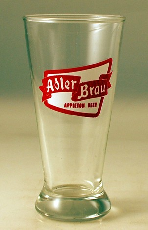 Adler Brau Appleton Glass Beer