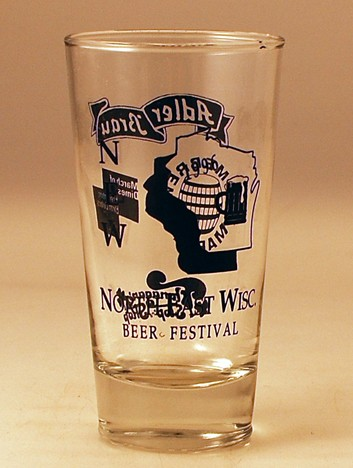 Adler Brau North East Wisc. Beer Festival Glass Beer