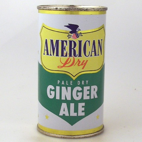 American Dry Pale Dry Ginger Ale Yellow Shield Beer