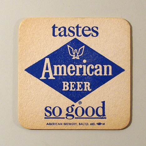 American - Inverted Maroon Reverse Beer