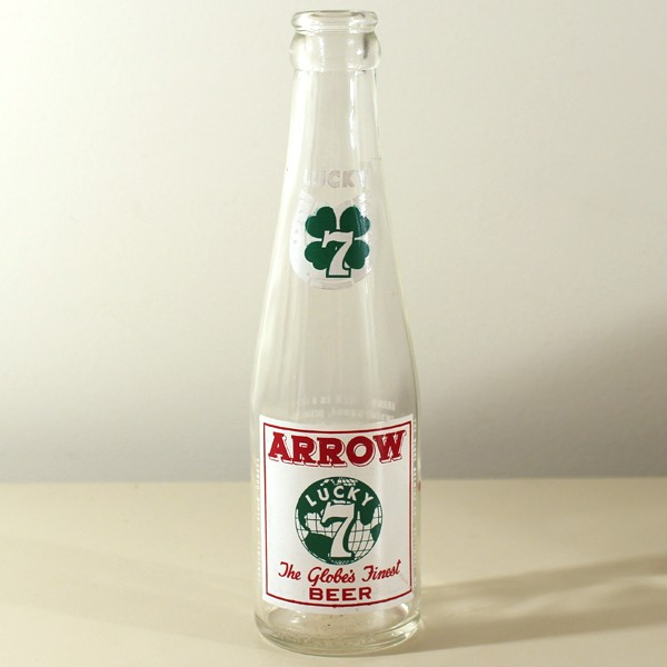 "Arrow 77 ""Lucky 7"" Beer ACL Beer"