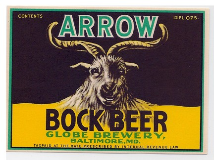 Arrow Bock Beer Beer