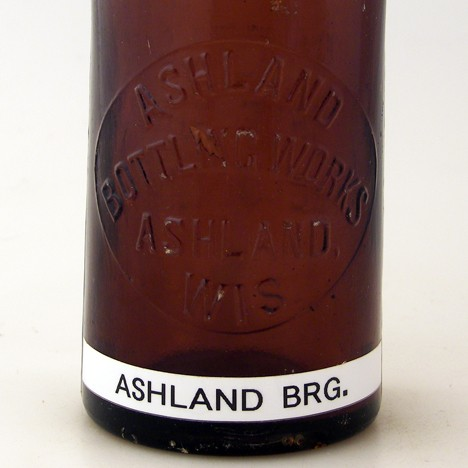 Ashland Bottling Works - Ashland, Wisconsin Beer