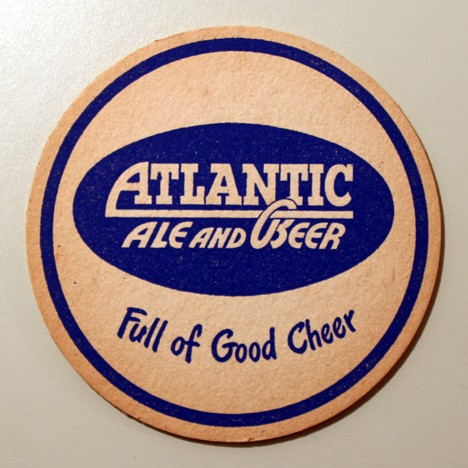 "Atlantic Ale And Beer - ""Full Of Good Cheer"" Beer"