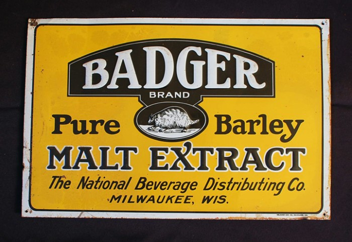 Badger Pure Barley Malt Extract Beer