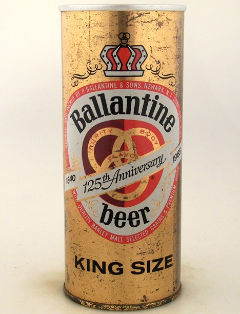 Ballantine 125th Anniversary Beer 138-25 Beer