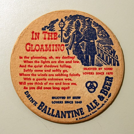 "Ballantine Ale & Beer - Songs - ""In The Gloaming"" Beer"