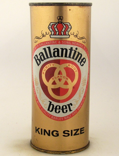 Ballantine Beer King Size 224-29 Beer