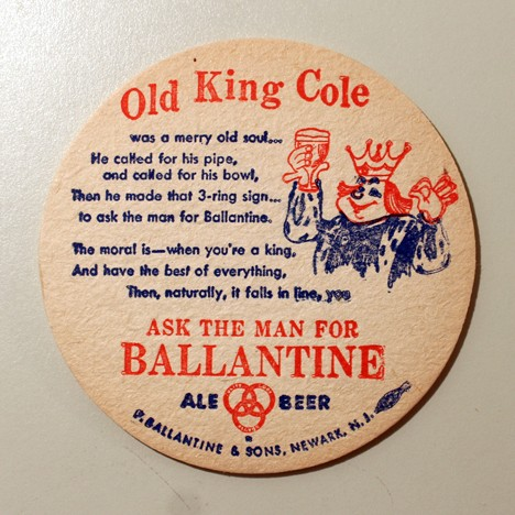 Ballantine Ale & Beer - Old King Kole Beer