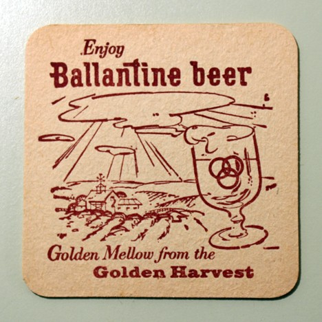 "Ballantine Beer - Sing Along - ""Give My Regards To Broadway"" Beer"