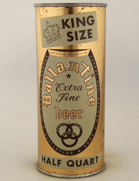 Ballantine Extra Fine Beer King Size 224-22 Beer