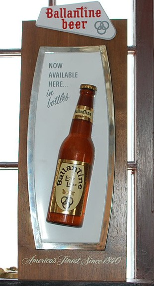 Ballantine Light Lager 3D Sign Beer