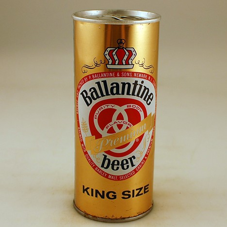 Ballantine Premium King Size 138-28 Beer