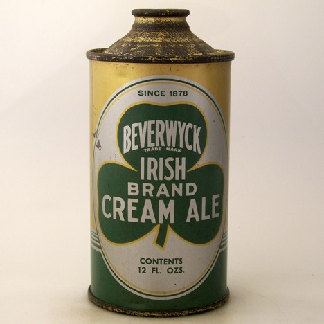 Beverwyck Irish Brand Cream Ale 152-04 Beer