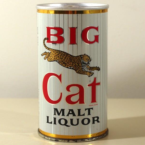 1960/'s BIG CAT malt liqour sticker from Pabst