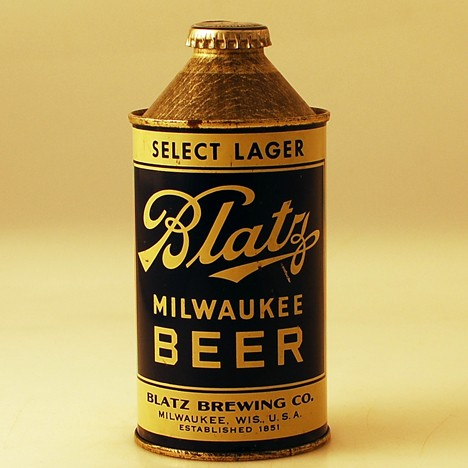 Blatz Select Lager 153-14 Beer