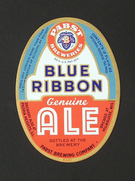 Blue Ribbon Genuine Ale Beer
