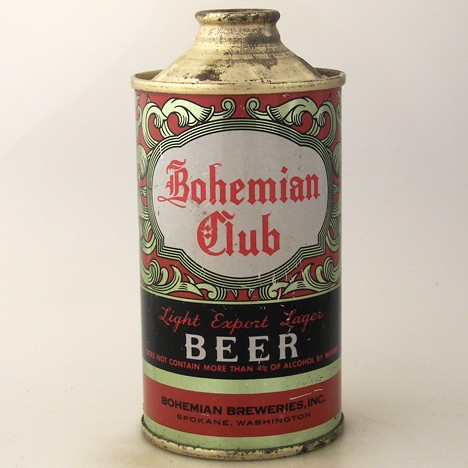 Bohemian Club Light Export Lager Beer  154-06 Beer