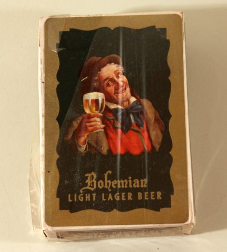 Bohemian Light Lager Beer Playing Cards (Unopened Deck) Beer