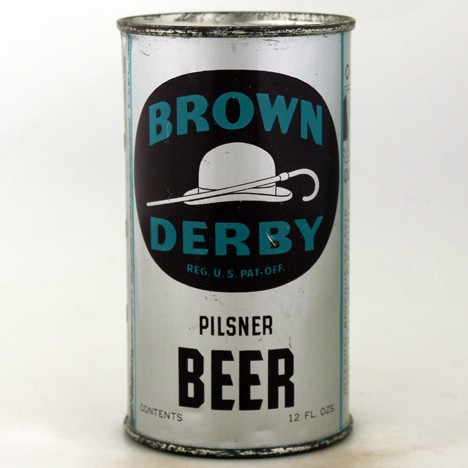 Brown Derby Pilsner Beer (LA) 131 Beer