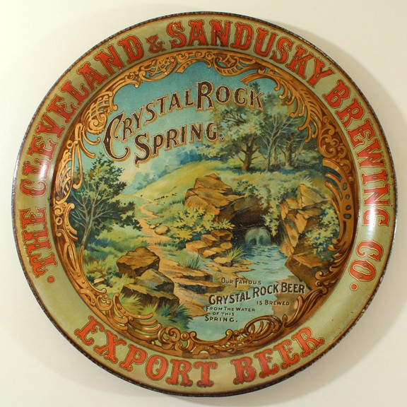 Cleveland & Sandusky Brewing Co. - Crystal Rock Spring Beer