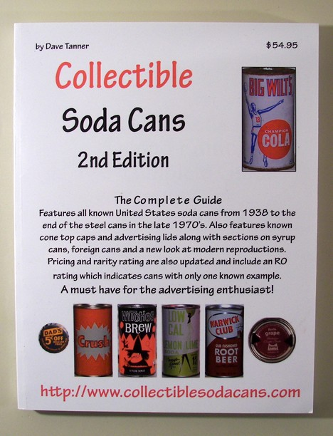 Collectible Soda Cans 2nd Edition by Dave Tanner Beer