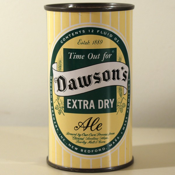 Dawson's Extra Dry Ale 053-09 Beer