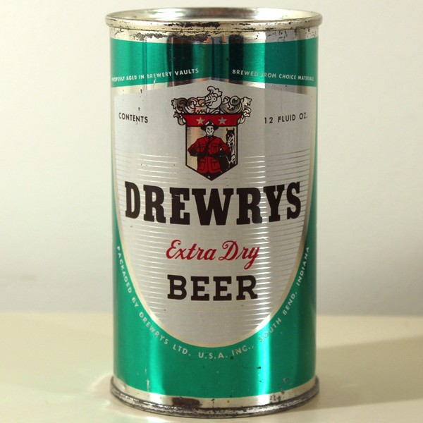 Drewrys Extra Dry Beer Green Sports 056-19 Beer