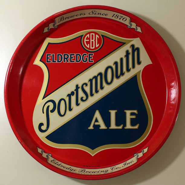 Eldredge Portsmouth Ale 12 Inch Tray Beer
