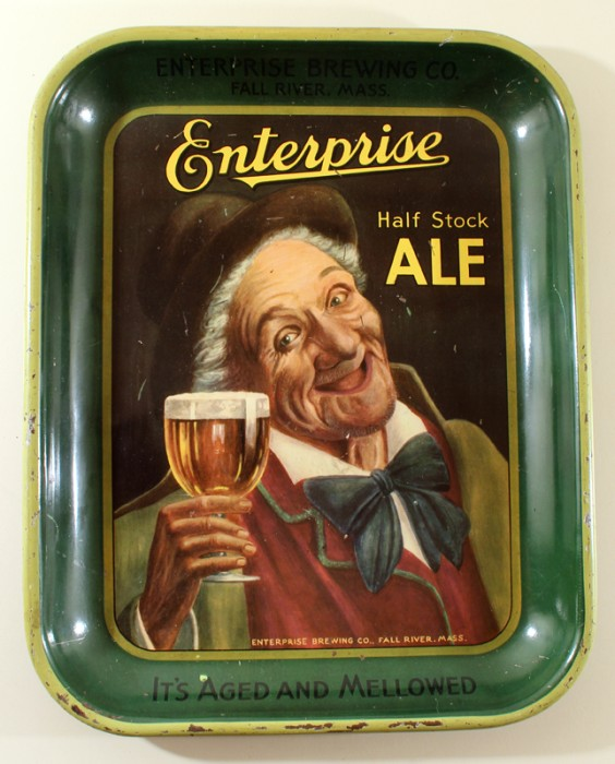 Enterprise Half Stock Ale Rectangle Beer