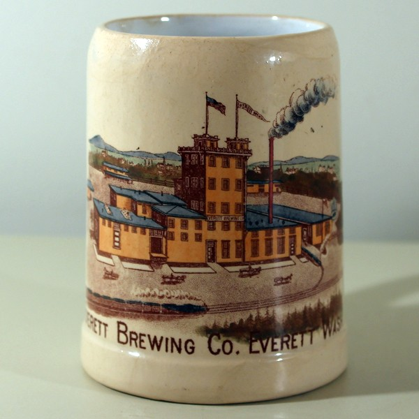 Everett Brewing Co. Factory Scene Mug Beer